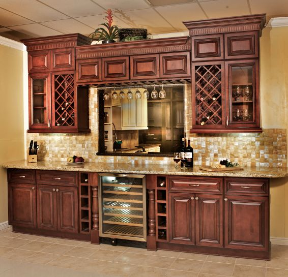 Cherry Rope Raised Panel Maple Cabinets The Cabinet Barn