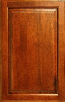 Elegant Walnut Sample Door